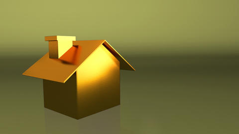 golden house Animation