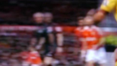 Football Stock Video Footage