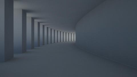 corridor pillar Animation