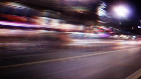 Street Lights 0212 HD-NTSC-PAL Stock Video Footage