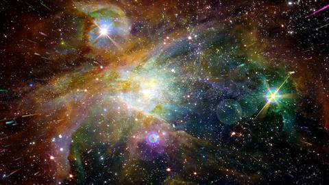 The Heavens 0410 HD-NTSC-PAL Stock Video Footage