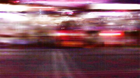 Street Lights 0301 HD-NTSC-PAL Stock Video Footage