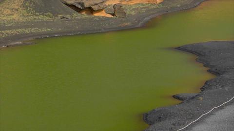 el golfo dead vulcan zoom pan Stock Video Footage