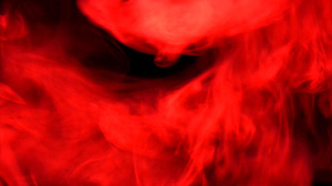 Smoke Red 01 Loop stock footage