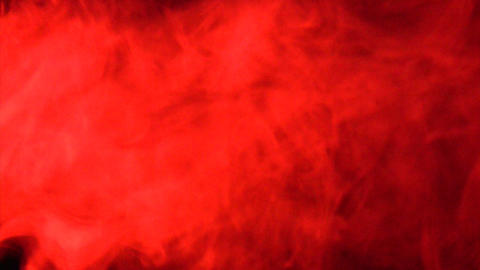 Smoke Red 03 Loop Stock Video Footage