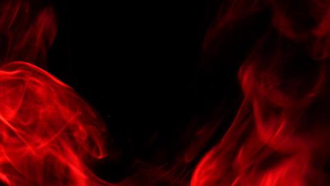 Smoke Red 05 Loop Stock Video Footage