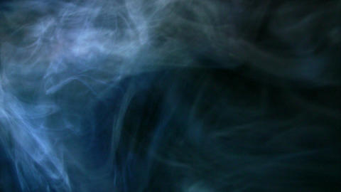 Smoke Side 01 Loop Stock Video Footage