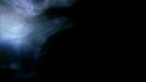 Smoke Side 03 Loop Stock Video Footage