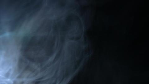 Smoke Side 05 Loop Stock Video Footage