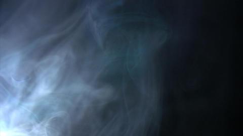 Smoke Side 05 Loop Footage