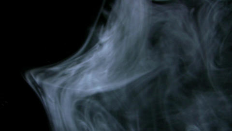 Smoke White 03 Loop Stock Video Footage