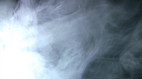 Smoke White 05 Loop Stock Video Footage