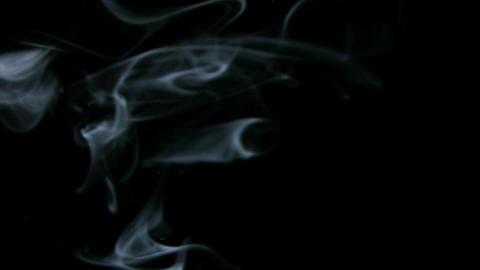 Smoke White 09 Loop Stock Video Footage