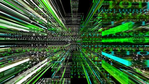 Data Storm 0209 HD-NTSC-PAL Stock Video Footage
