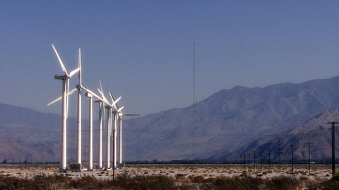 Wind Power 0105 HD-NTSC-PAL Stock Video Footage