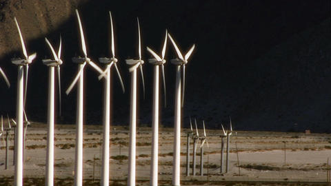 Wind Power 0109 HD-NTSC-PAL Stock Video Footage