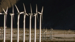 Wind Power 0109 HD-NTSC-PAL Stock Video Footage