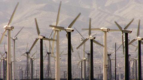 Wind Power 0111 HD-NTSC-PAL Stock Video Footage