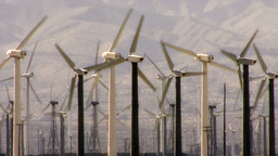 Wind Power 0111 HD-NTSC-PAL Stock Video Footage