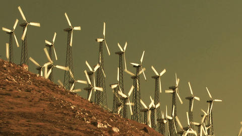 Wind Power 0203 HD-NTSC-PAL Footage