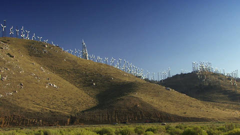 Wind Power 0205 HD-NTSC-PAL Stock Video Footage