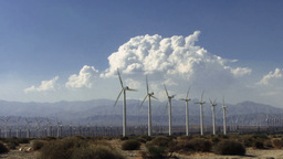 Wind Power 0212 HD-NTSC-PAL Stock Video Footage