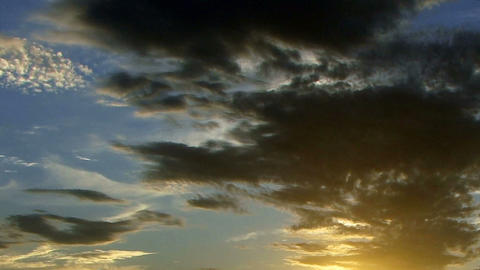 Clouds 1102 HD-NTSC-PAL Stock Video Footage