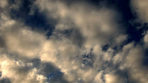 Clouds 1104 HD-NTSC-PAL Stock Video Footage
