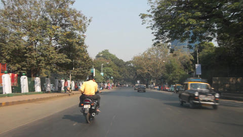 streets in India Stock Video Footage