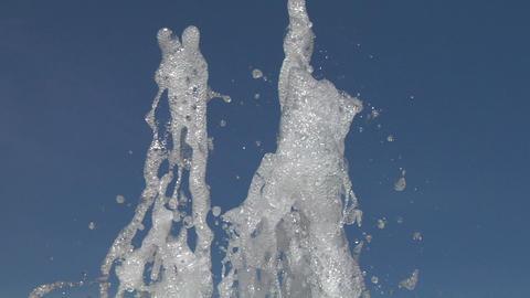 water splash 01 Stock Video Footage