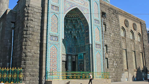 Saint Petersburg Mosque, landmark Stock Video Footage
