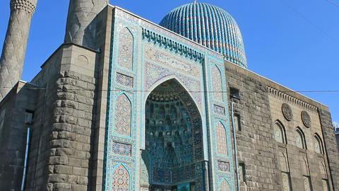 Saint Petersburg Mosque, landmark Stock Video Footage