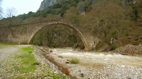 Stone Bridge Stock Video Footage