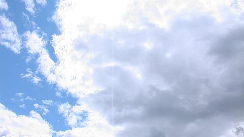 sky pan 1 Stock Video Footage