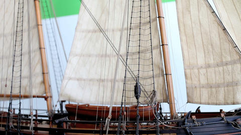 sailing ship Stock Video Footage