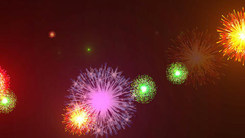 Hanabi3458fu Stock Video Footage