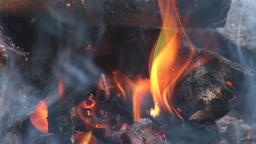 camp fire 6 Stock Video Footage