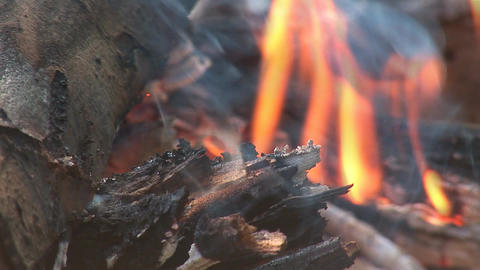 camp fire 8 Stock Video Footage