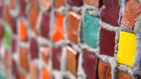 mosaic 2 Stock Video Footage