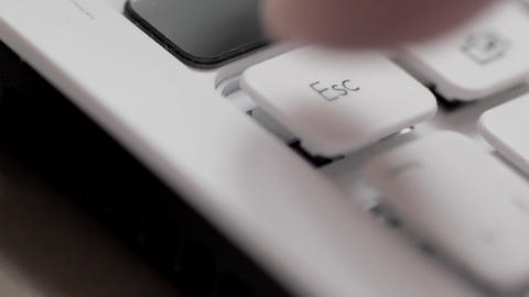 Sequence of keyboard strokes Stock Video Footage