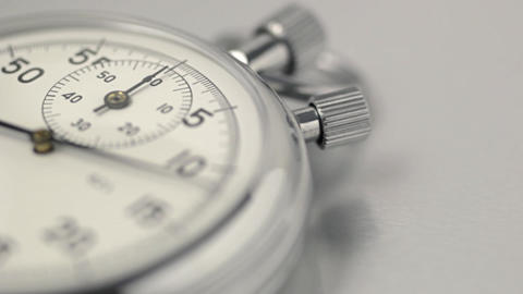 Stopwatch close up Stock Video Footage