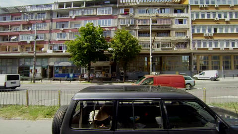 Varna. Bulgaria. Buildings, streets, districts Footage