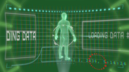 VID 191 High Tech Man Hd stock footage