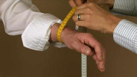 Tailor Wrist Measuring Live Action