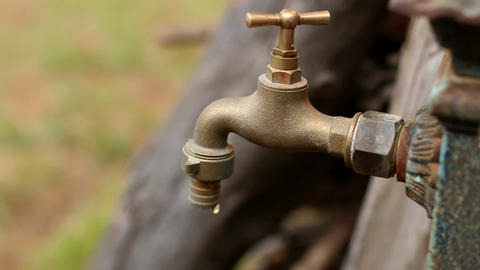 Dripping Tap Rack Focus Live Action