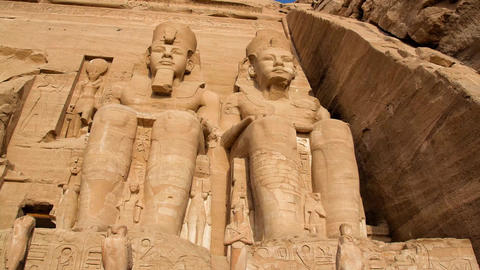 Abu Simbel Stock Video Footage