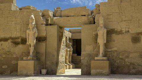 Karnak stock footage