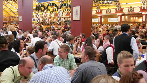 Oktoberfest stock footage