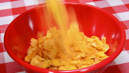 VID 201 Pouring Cereal Hd stock footage