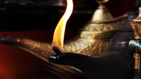 Magical Lamp of Aladdin Footage